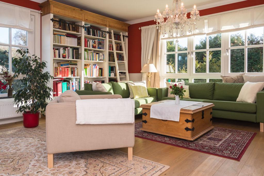 Moderne Immobilie im Landhaus-Stil